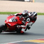 Ducati Rennstreckentraining am Sachsenring - rote Gruppe